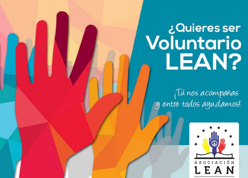 Sé voluntario LEAN